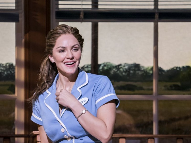 Katharine McPhee (Jenna)  in 'Waitress' (London)  © Johann Persson