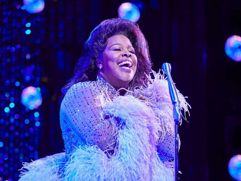Amber Riley (Effie White)  in 'Dreamgirls' (London)  © Brinkhoff / Mögenburg