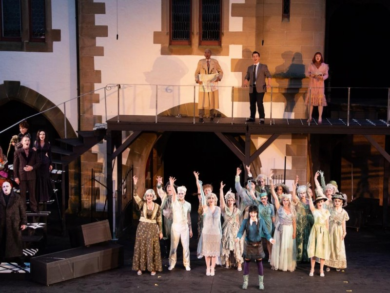 'The Addams Family' (Jagsthausen)  © Burgfestspiele Jagsthausen, Cecilia Stede
