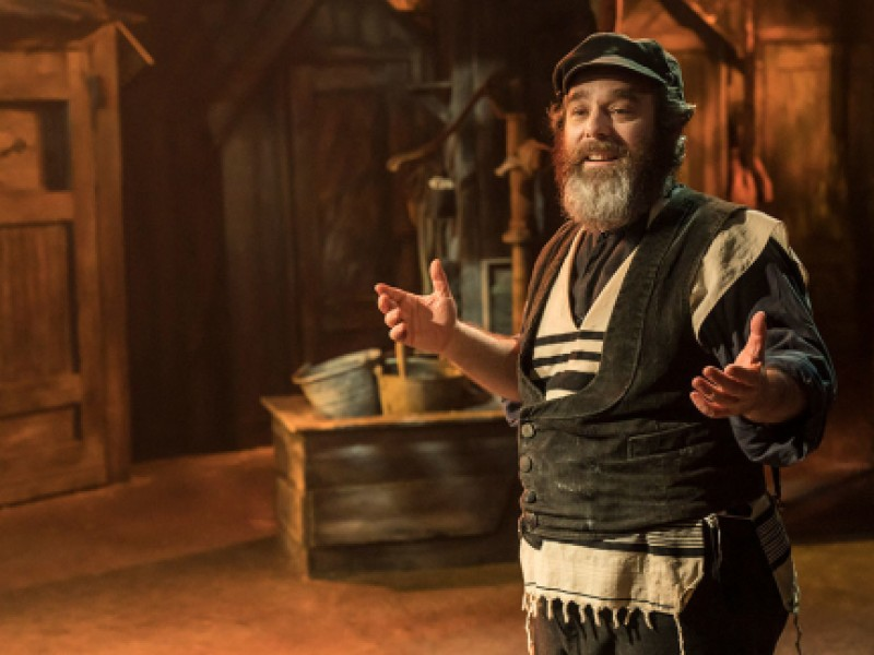 Andy Nyman (Tevje)  in 'Fiddler on the Roof' (London)  © Johan Persson