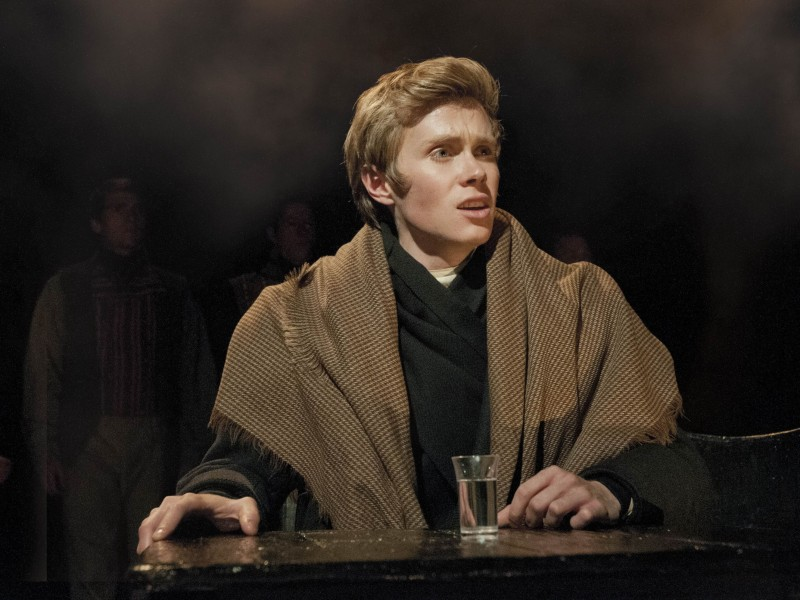 Rob Houchen als Marius  in 'Les Misérables' (London)  © Mchael Le Poer Trench