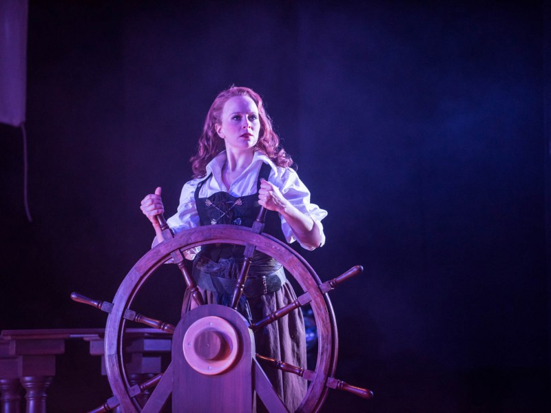 Corinna Ellwanger (Grace O'Malley)  in 'The Pirate Queen' (Nordhausen)  © Roland Obst