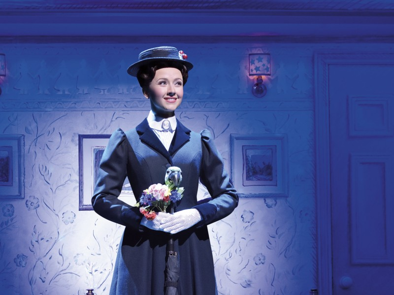 Elisabeth Hübert  in 'Mary Poppins' (Hamburg)  © Stage Entertainment