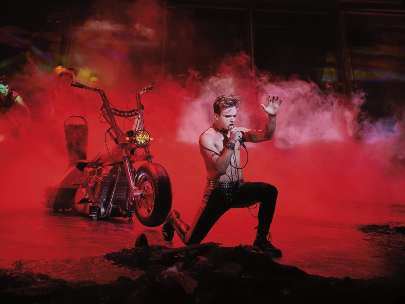 Robin Reitsma  in 'Bat Out Of Hell' (Oberhausen)  © Stage Entertainment