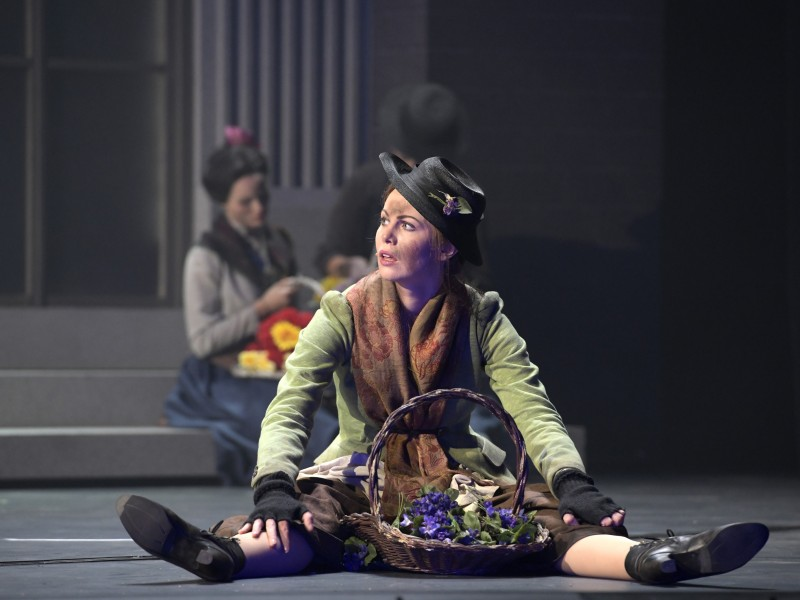 Theresa Christahl (Eliza Doolittle)  in 'My Fair Lady' (Bielefeld)  © Bettina Stöß