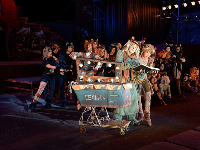 Yngve Gasoy Romdal, Ensemble  in 'Cats' (Thun)  © Thunerseespiele