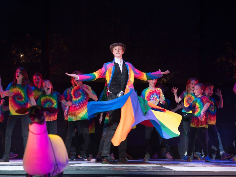 Julius von Maldeghem, Kinderchor  in 'Joseph and the Amazing Technicolor Dreamcoat' (Salzburg)  © Anna-Maria Löffelberger