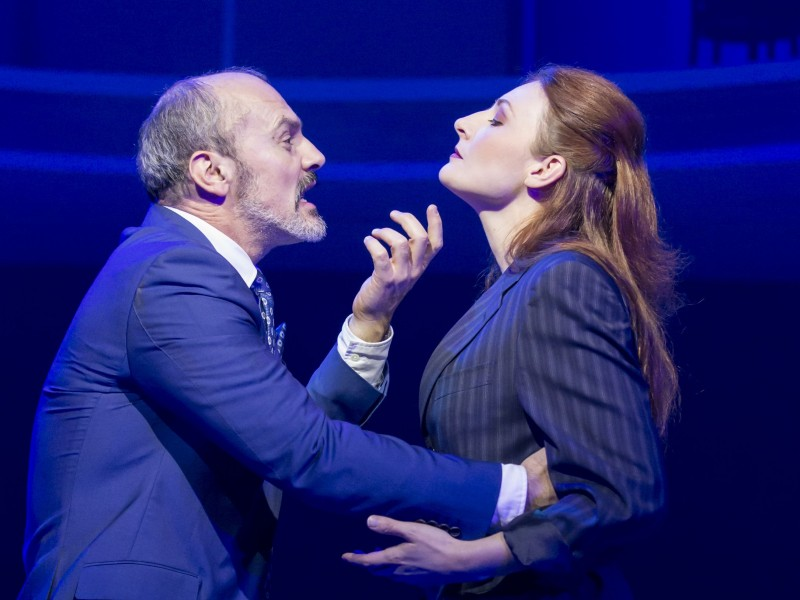 Jerome Pradon (Ivan) und Willemijn Verkaik (Paulina)  in 'Women on the Verge of a Nervous Breakdown' (London)  © Johan Persson