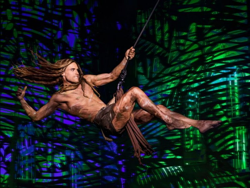 Josh Strickland  in 'Tarzan' (Oberhausen)  © Stage Entertainment