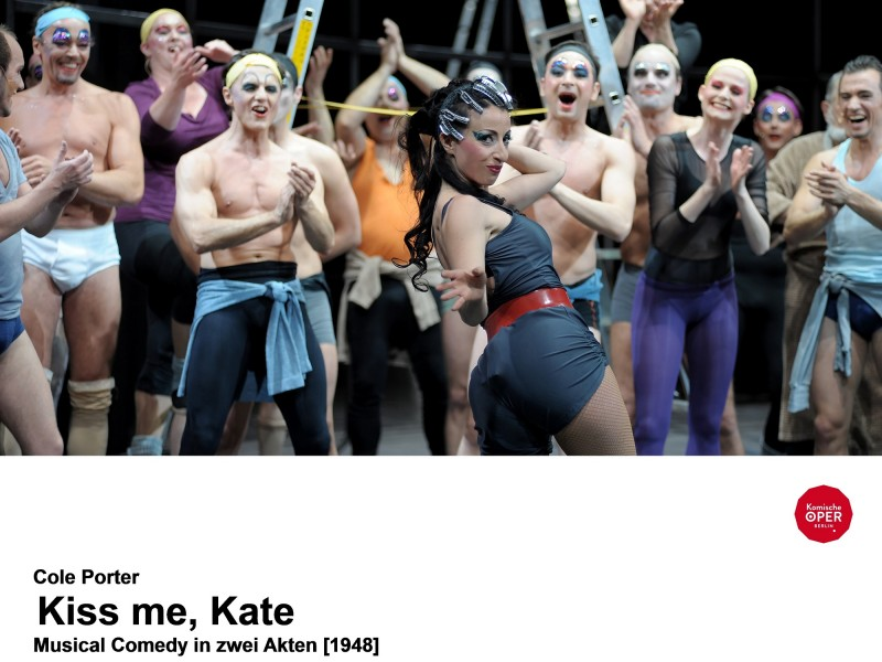 Sigalit Feig (Lois Lane/Bianca)  in 'Kiss Me, Kate' (Berlin)  © Monika Rittershaus
