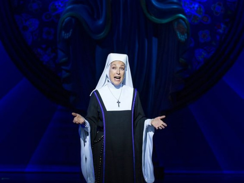Daniela Ziegler (Mutter Oberin)  in 'Sister Act' (München)  © Stage Entertainment/Eventpress