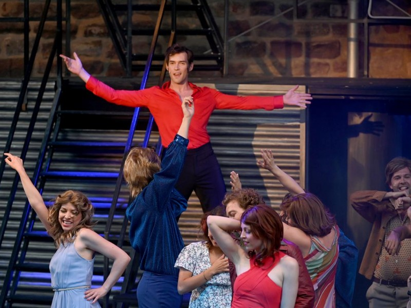 Sascha Luder (Tony Manero)  in 'Saturday Night Fever' (Bad Vilbel)  © Eugen Sommer