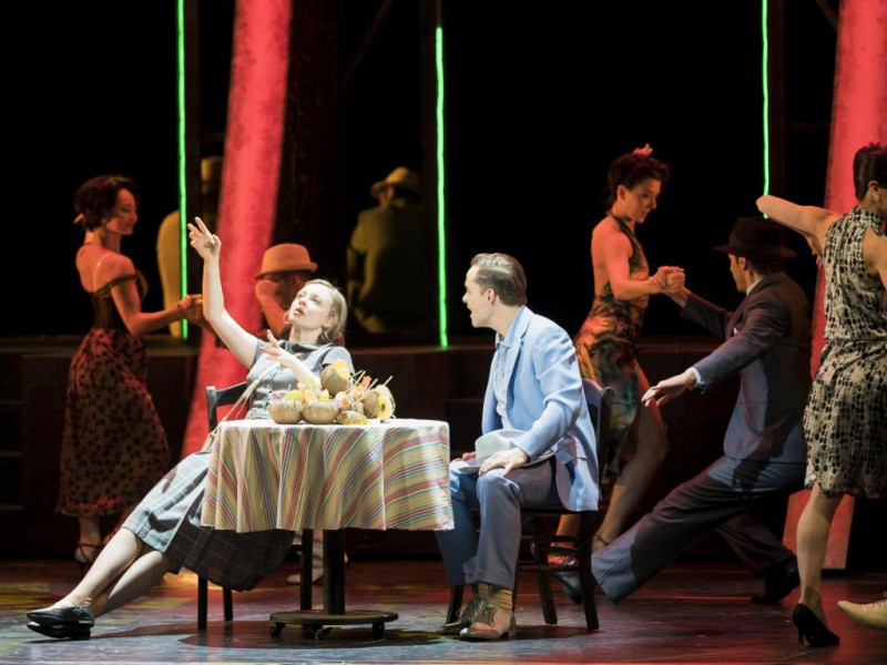 Johanna Spantzel (Sarah Brown), Christof Messner (Sky Masterson)  in 'Guys and Dolls' (Graz)  © Werner Kmetitsch