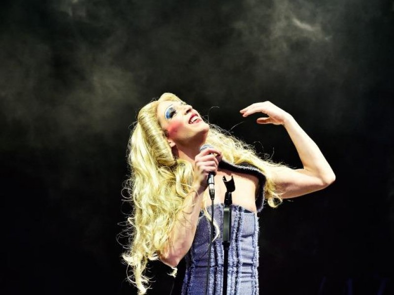 Riccardo Greco  in 'Hedwig and the Angry Inch' (Linz)  © Patrick Pfeiffer