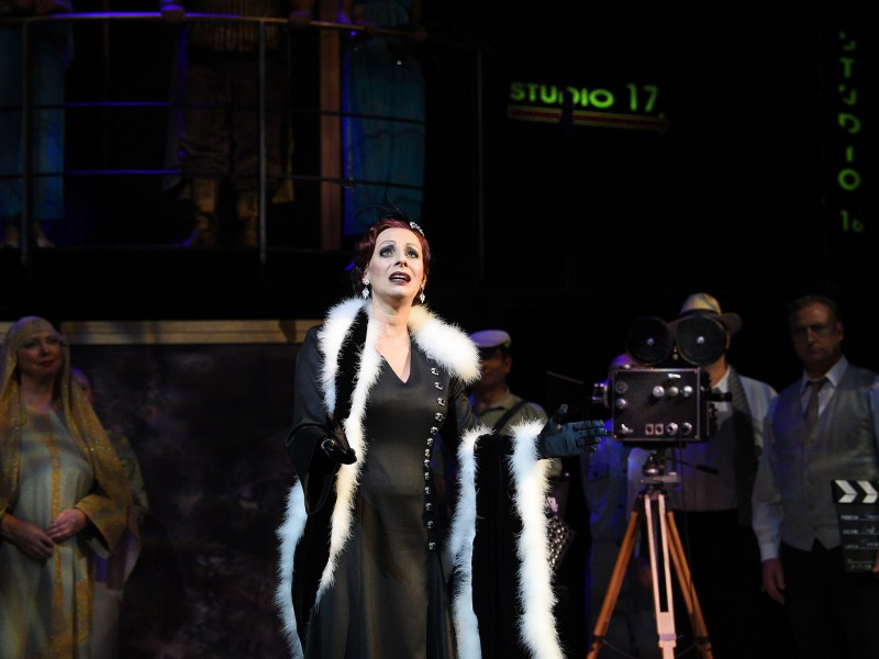 Isabel Dörfler (Norma Desmond)  in 'Sunset Boulevard' (Cottbus)  © Marlies Kross