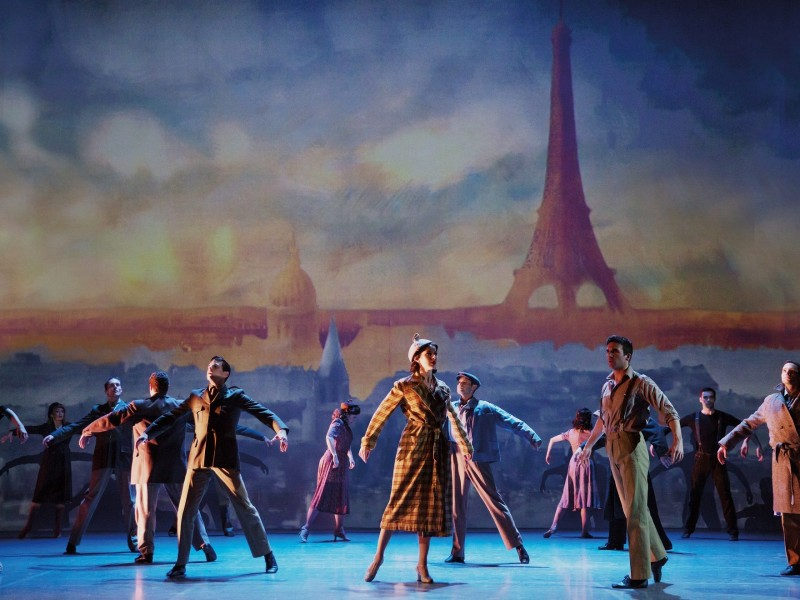 Original Broadway Cast  in 'An American in Paris' (London)  © Matthew Murphy