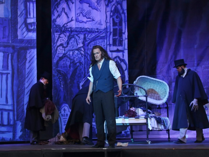 Chris Murray (Dr. Henry Jekyll/Edward Hyde)  in 'Jekyll & Hyde' (Greifswald)  © Vincent Leifer