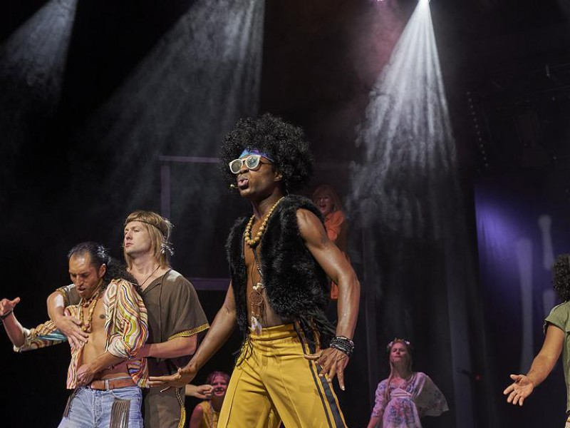 Mickey Smith JR (Hud)  in 'Hair' (Bad Hall)  © Hohensteiner