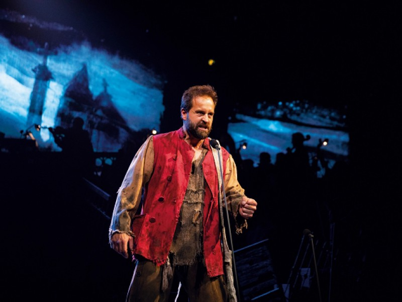 Alfie Boe (Jean Valjean)  in 'Les Misérables' (London)  © Matt Murphy