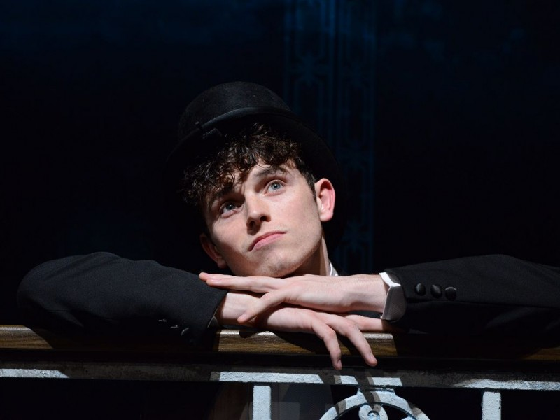 Charlie Stemp (Arthur Kipps)  in 'Half a Sixpence' (London)  © Michael Le Poer Trench