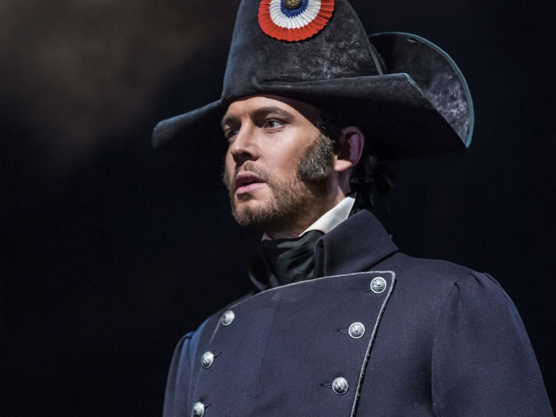 David Thaxton als Javert  in 'Les Misérables' (London)  © Johan Persson