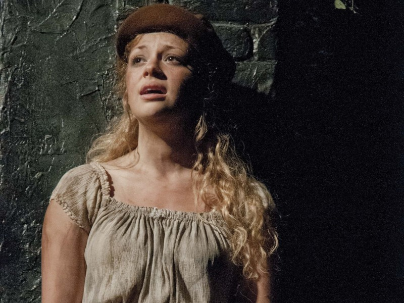Carrie Hope Fletcher als Eponine  in 'Les Misérables' (London)  © Michael Le Poer Trench