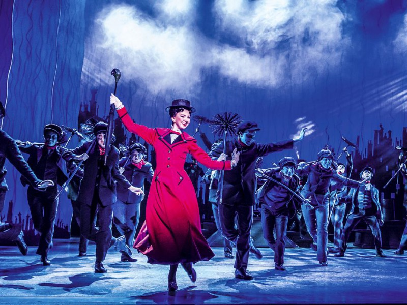 Zizi Strallen (Mary Poppins)  in 'Mary Poppins' (London)  © Johan Persson