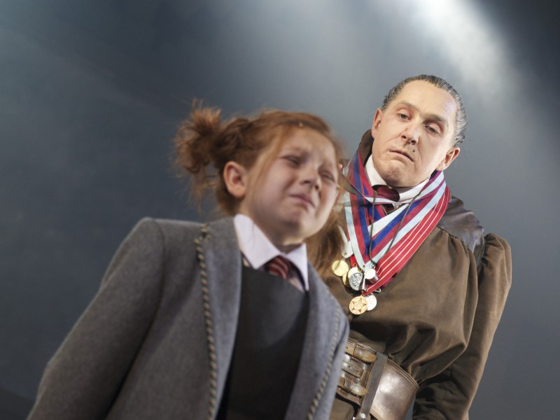 Bertie Carvel (Miss Trunchbull)  in 'Matilda - The Musical' (London)  © Manuel Harlan