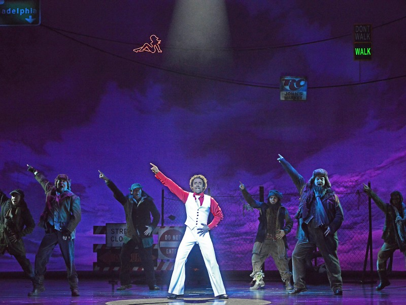 Mathieu Boldron, Ensemble  in 'Sister Act' (Oberhausen)  © Stage Entertainment