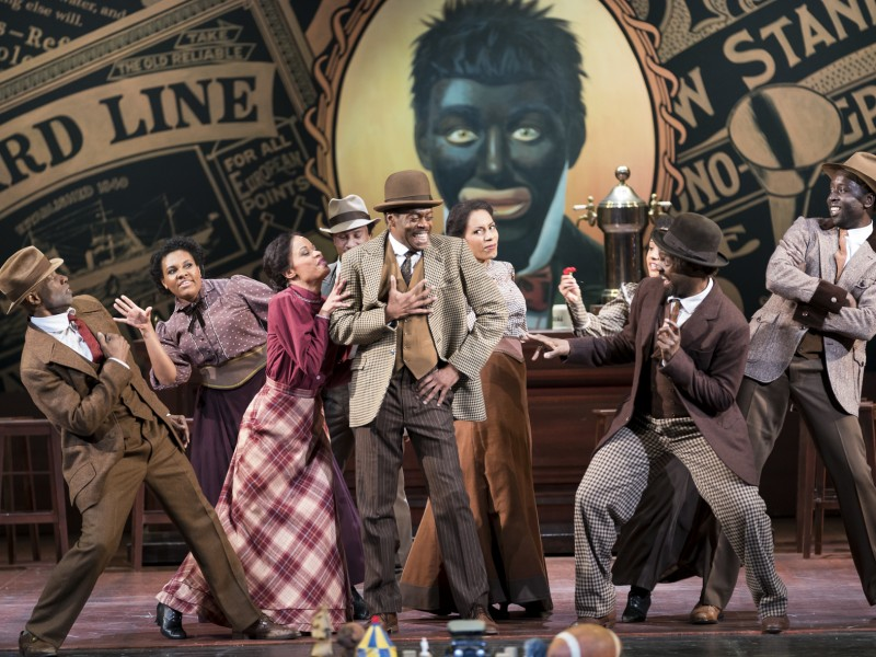 Alvin Le-Bass (Coalhouse Walker Jr.), Harlem -Ensemble  in 'Ragtime' (Graz)  © Werner Kmetitsch
