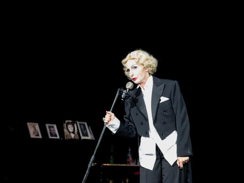 Silke Dubilier (Marlene Dietrich)  in 'The Kraut'  © T. Behind-Photographics