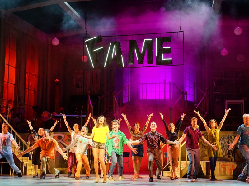 Ensemble  in 'Fame' (Kiel)  © Olaf Struck