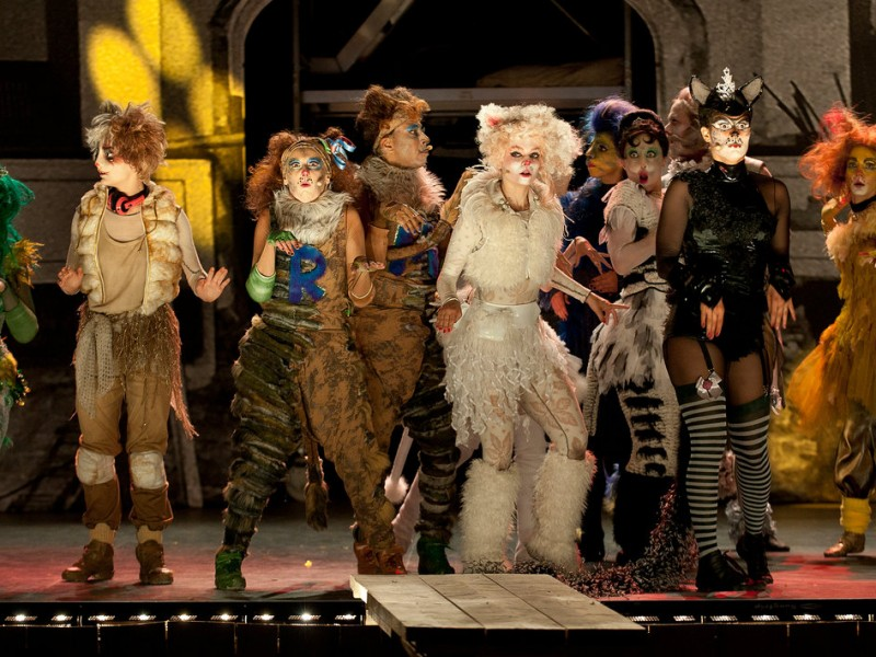 Ensemble  in 'Cats' (Koblenz)  © Matthias Baus