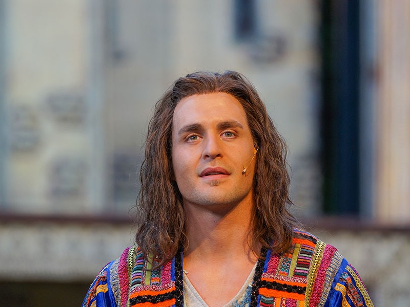 Alexander Klaws  in 'Joseph and the Amazing Technicolor Dreamcoat' (Tecklenburg)  © Freilichtspiele Tecklenburg