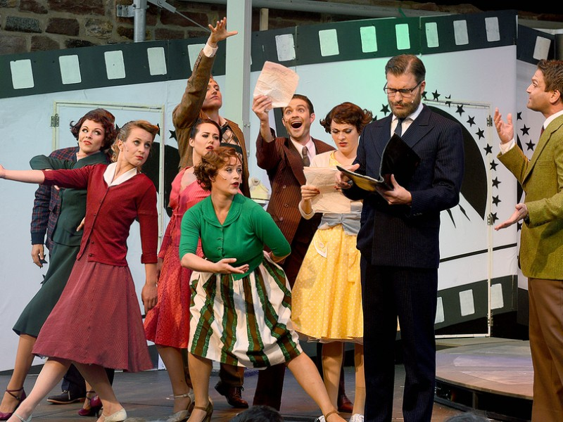 Ensemble  in 'Sunset Boulevard' (Bad Vilbel)  © Theater