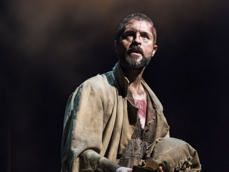 Peter Lockyer als Jean Valjean  in 'Les Misérables' (London)  © Johan Persson