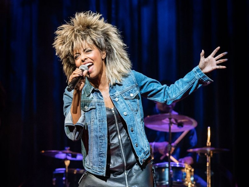 Adrienne Warren (Tina Turner)  in 'Tina - The Musical' (London)  © Manuel Harlan