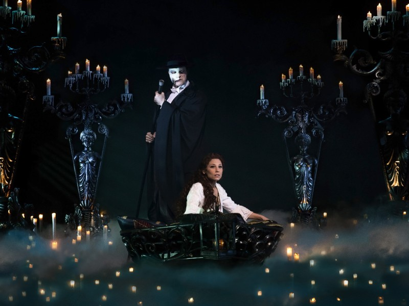 Mathias Edenborn, Valerie Link  in 'Das Phantom der Oper (Lloyd Webber)' (Hamburg)  © Stage Entertainment