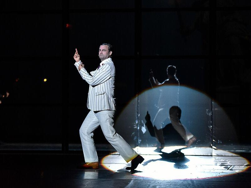 Frank Winkels (Billy Flynn)  in 'Chicago' (Bremerhaven)  © Manja Herrmann