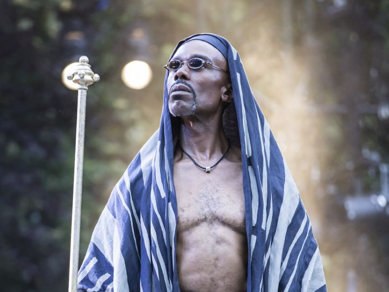 Cavin Cornwall (Caiaphas)  in 'Jesus Christ Superstar' (London)  © Johan Persson