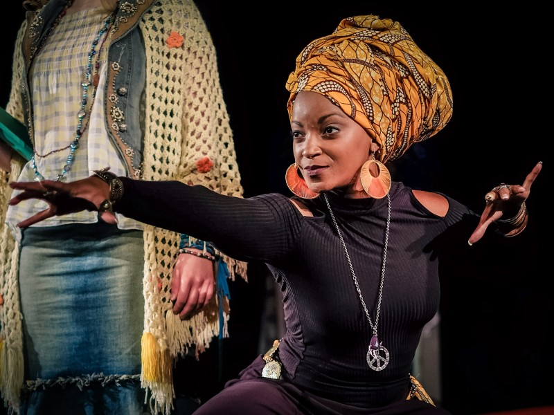 Zodwa Selele  in 'Hair' (Mannheim)  © Theater