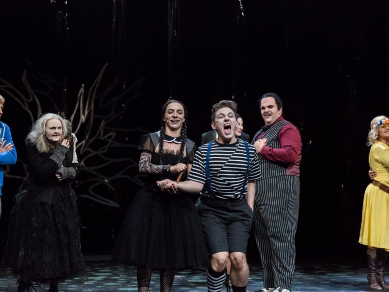 Ensemble  in 'Die Addams Family' (Hildesheim)  © T.Behind-Photographics