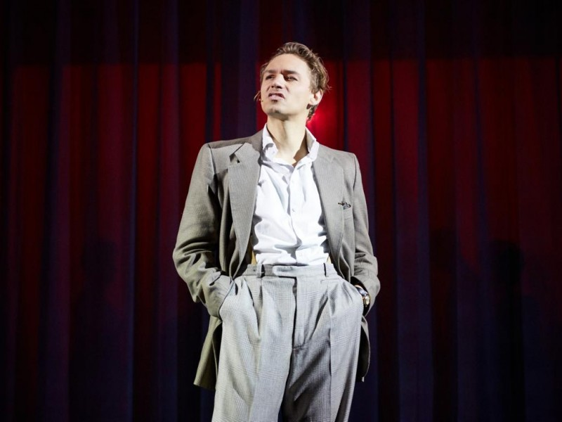 Dominik Hees (Joe Gillis)  in 'Sunset Boulevard' (Bozen)  © Christoph Sebastian
