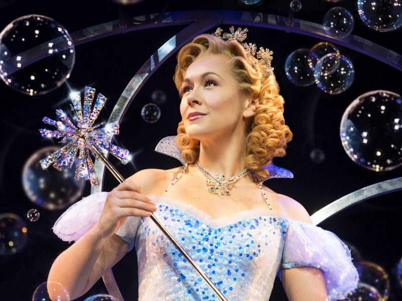 Savannah Stevenson (Glinda)  in 'Wicked' (London)  © Matt Crockett