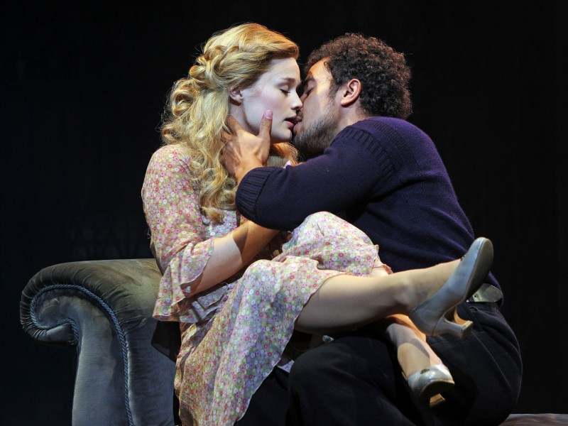 Lucy May Barker as Johanna and Luke Brady as Anthony  in 'Sweeney Todd' (London)  © Marilyn Kingwill