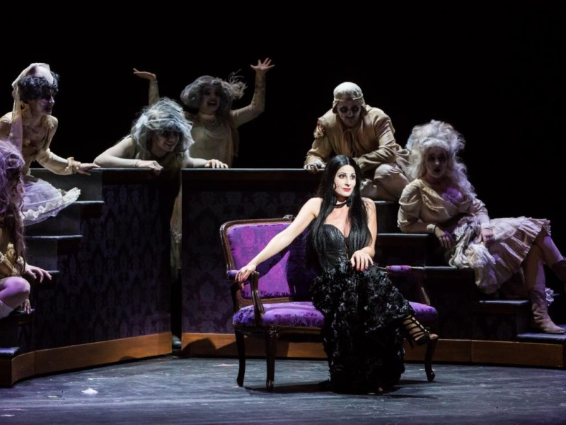 Marysol Ximénez-Carrillo (Morticia Addams)  in 'Die Addams Family' (Hildesheim)  © T.Behind-Photographics