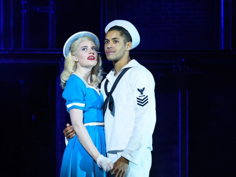 Lizzy Connolly (Hildy), Jacob Maynard (Chip)  in 'On the Town' (London)  © Jane Hobson