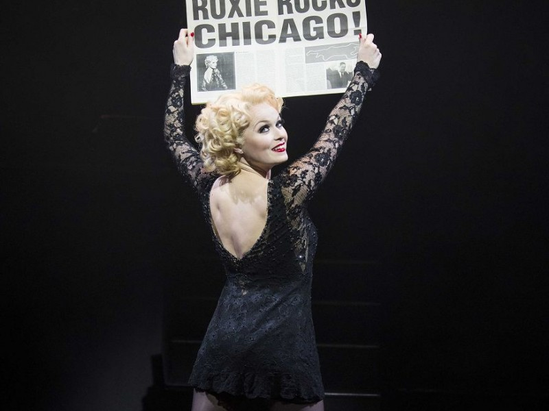 Sarah Soetaert (Roxie Hart)  in 'Chicago' (London)  © Tristram Kenton
